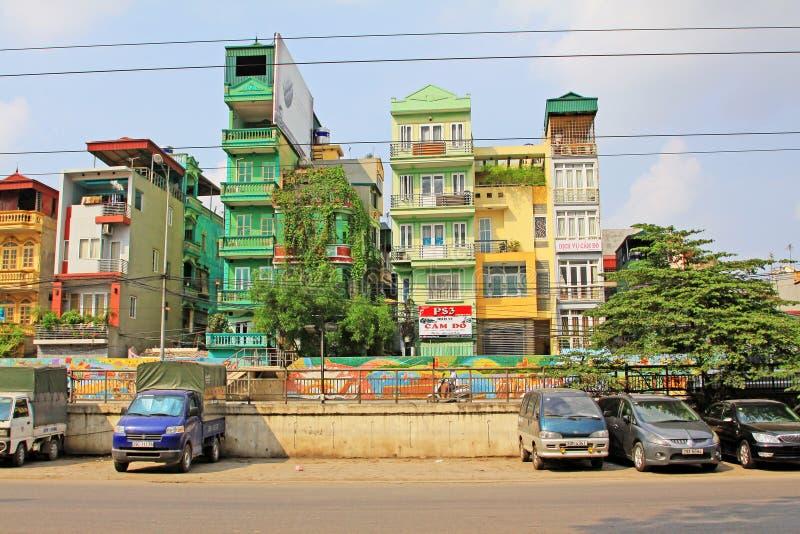 Residence in Hanoi, Hanoi Vietnam stock photography