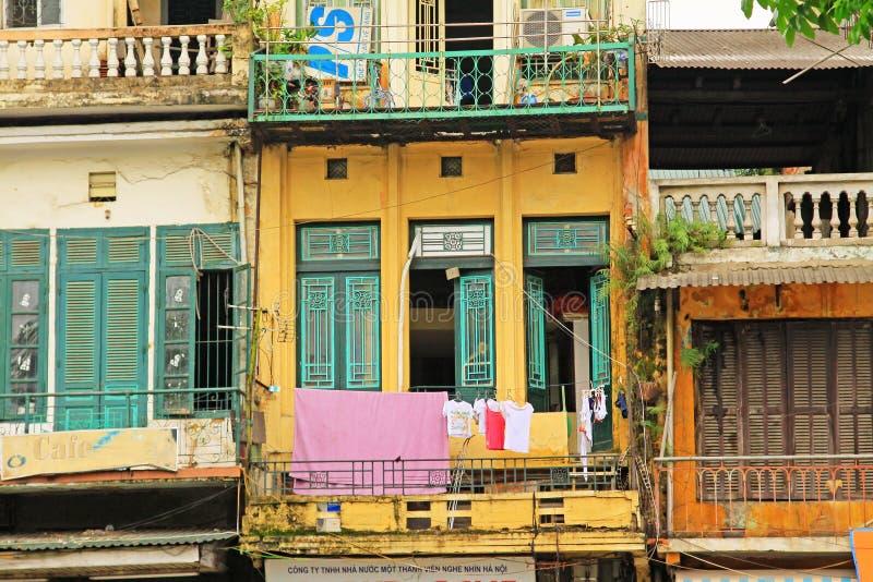 Residence in Hanoi, Hanoi Vietnam stock photo