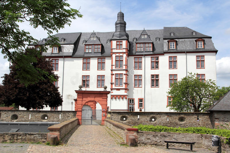Residence palace in Idstein royalty free stock photos