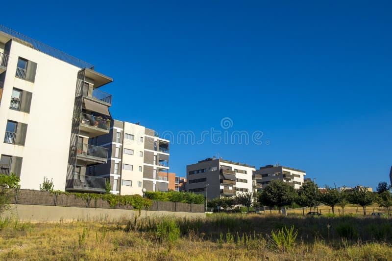Residence zone in Sant Cugat del Valles in Barcelona. Spain stock photos