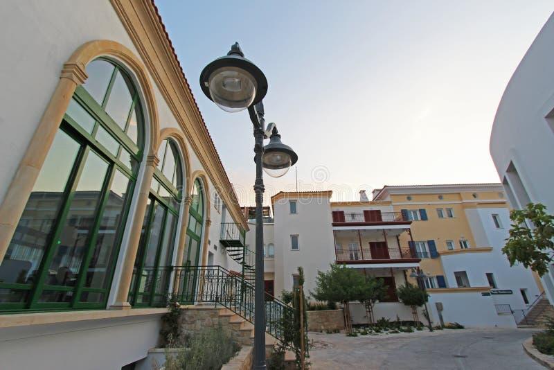 Residences at Limassols Marina in Cyprus stock image