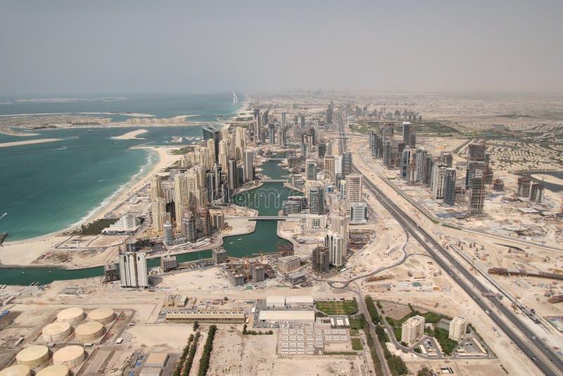 Residencia de la playa de Jumeirah imagen de archivo libre de regalías