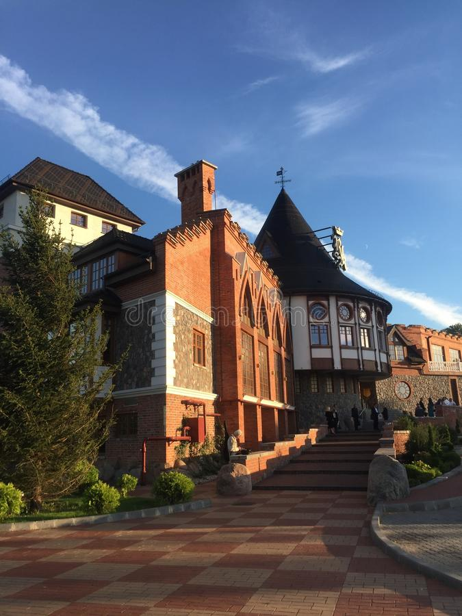 Residencia de los reyes de Kenigsberg en el centro fotos de archivo libres de regalías