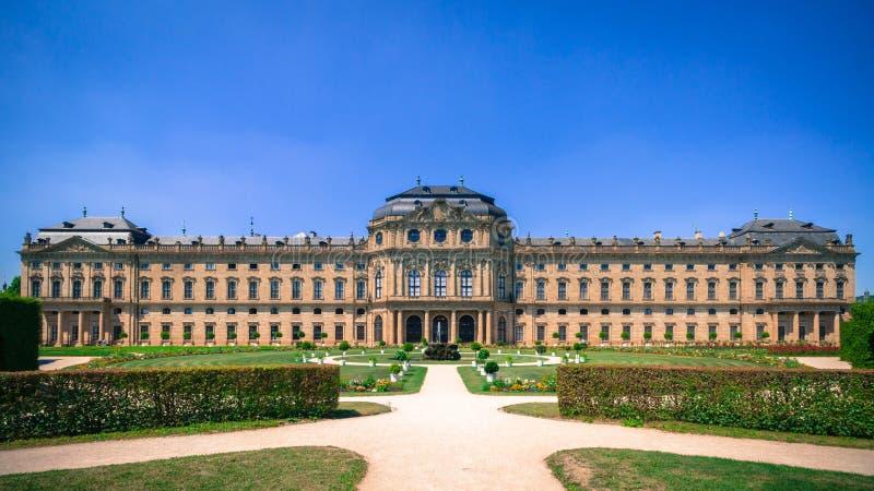 Residencia de Wurzburg foto de archivo
