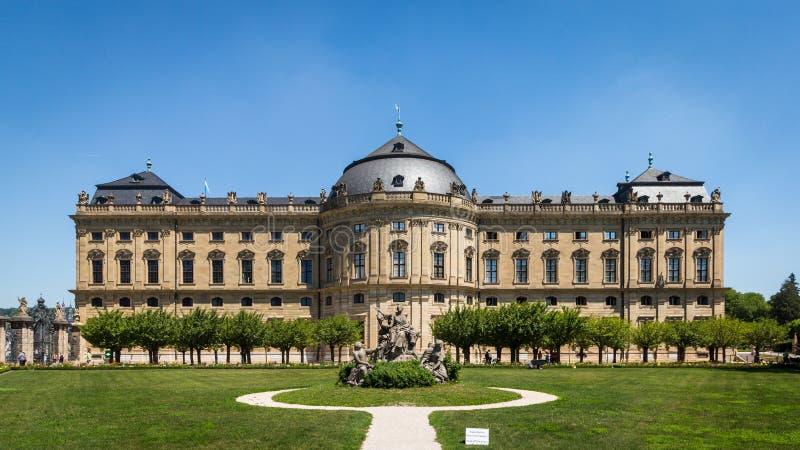 Residencia de Wurzburg foto de archivo libre de regalías