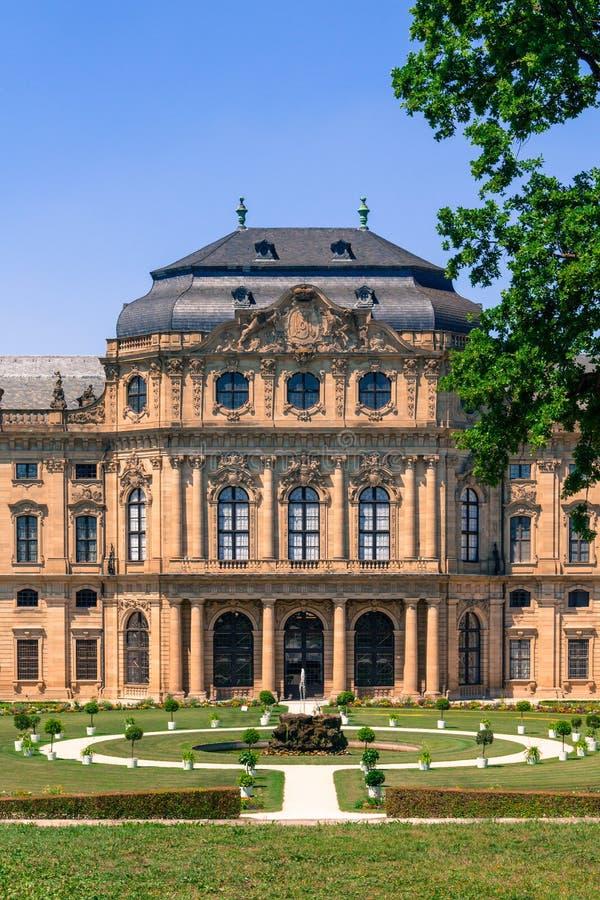 Residencia de Wurzburg fotos de archivo libres de regalías