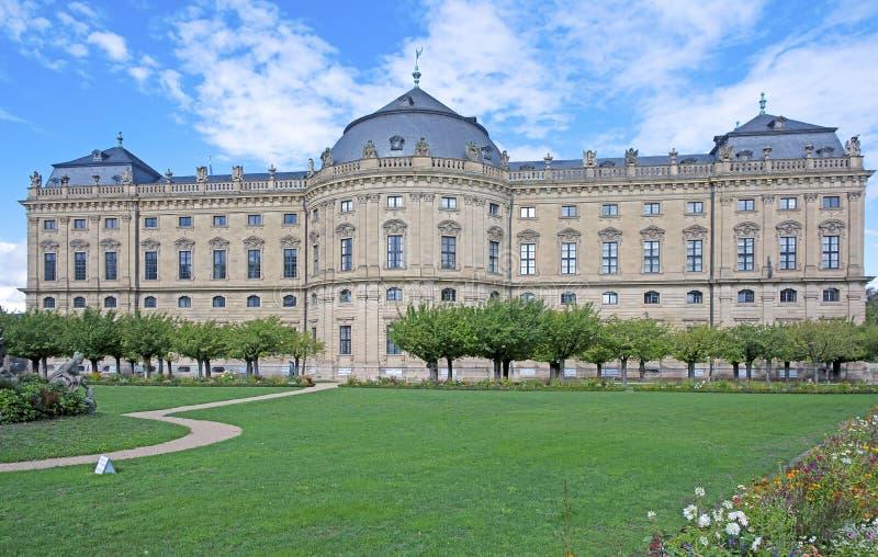 Residencia de Wurzburg, patrimonio mundial de la UNESCO imagen de archivo