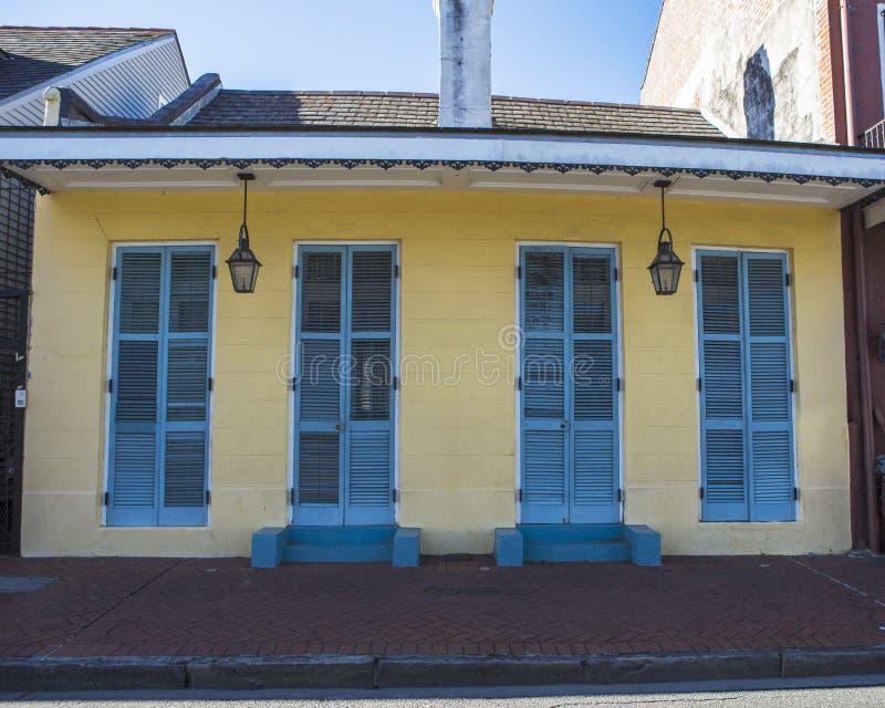 Residencia del barrio francés imagen de archivo