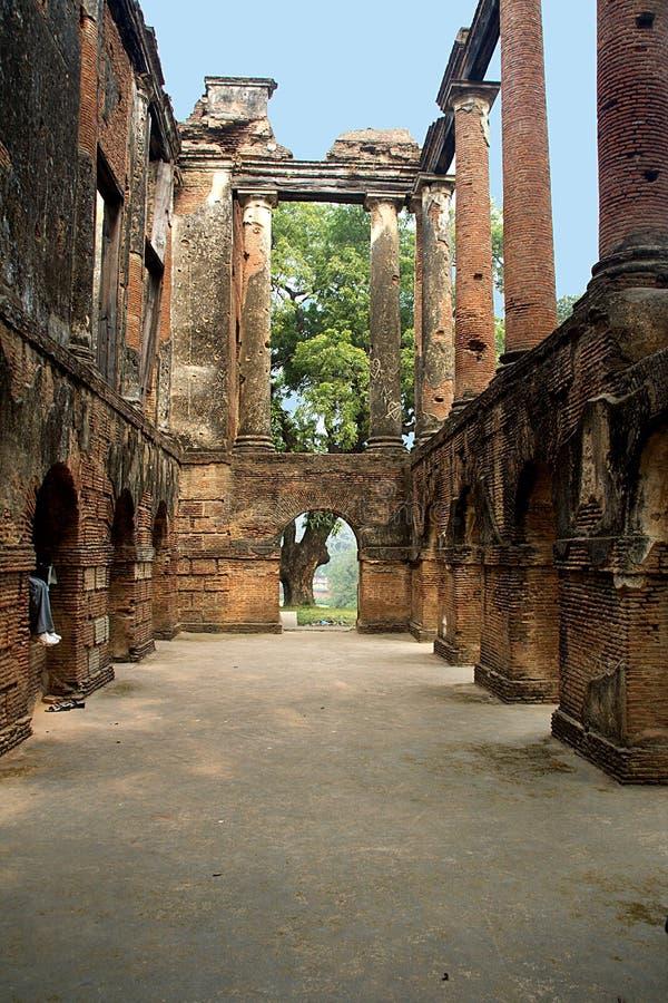 Residencia del monumento en Lucknow imagenes de archivo