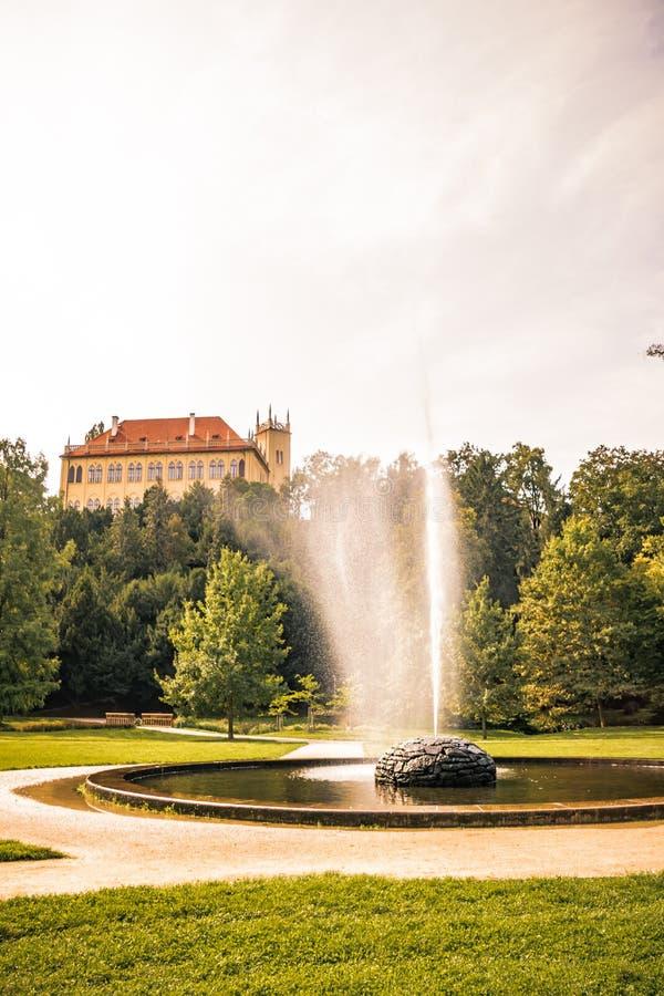 Residencia del verano del ` s del gobernador en Praga, República Checa fotografía de archivo