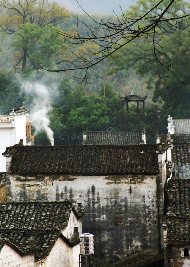 Residencia house-1 del chino tradicional fotografía de archivo