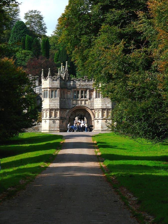 Residencia vieja de Lanhydrock, Reino Unido fotos de archivo