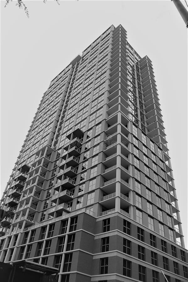 Residentail大厦 库存图片