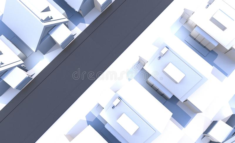 Download Residential Area stock illustration. Illustration of house - 25955275