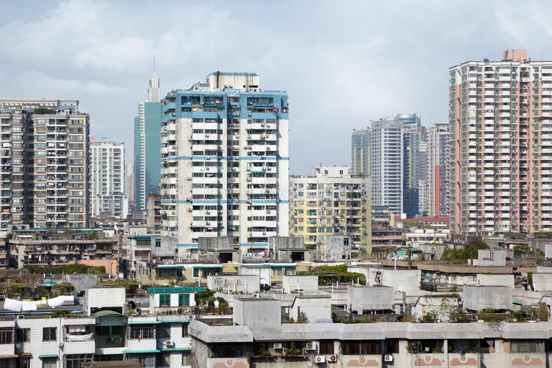 Download Residential Area Of Guangzhou Royalty Free Stock Photo - Image: 28023775