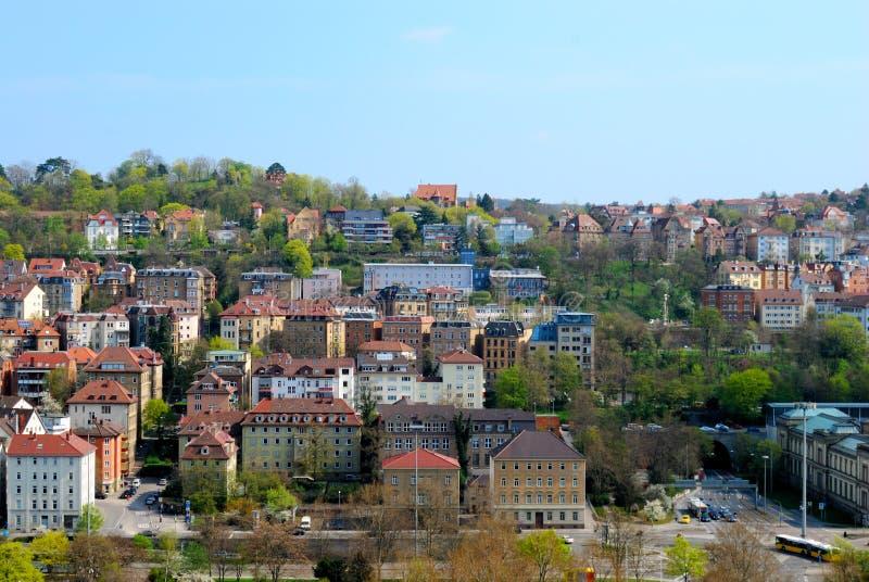 Download Residential Area In Stuttgart City Center Stock Photo - Image: 10585376