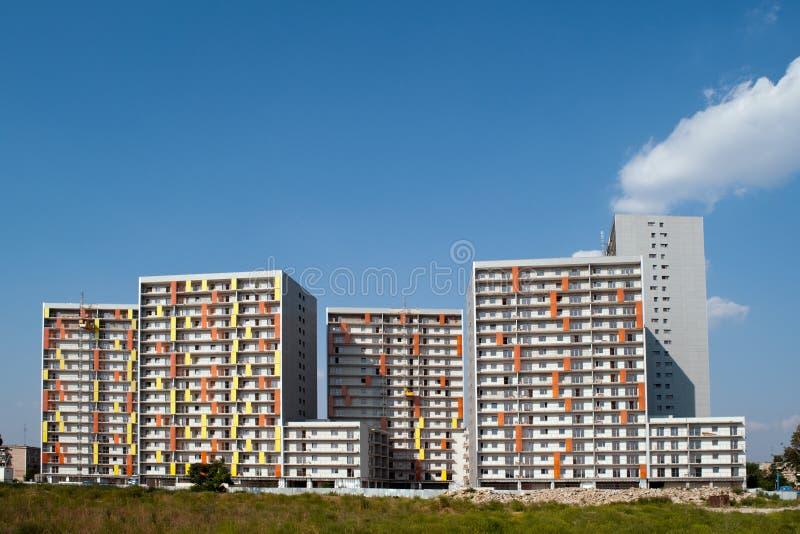 Download Residential blocks stock image. Image of windows, shiny - 22680719