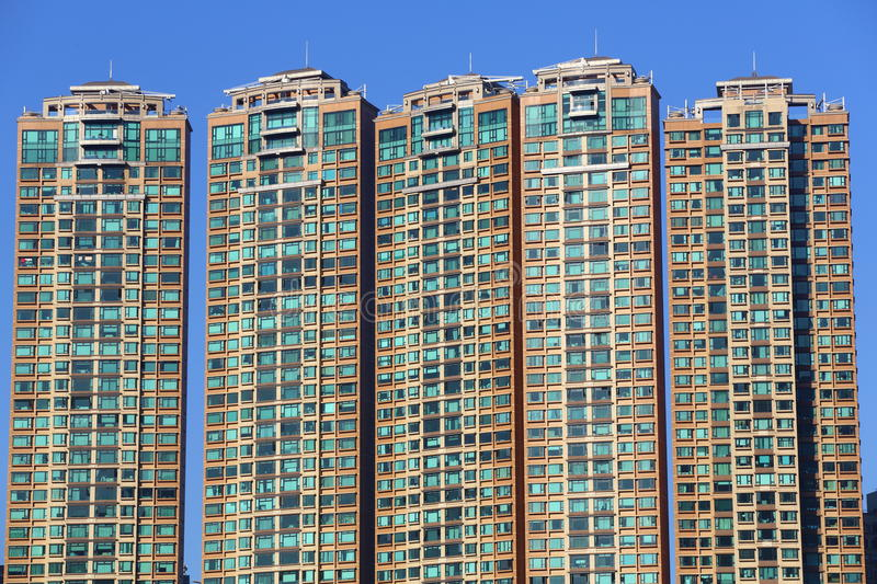Download RESIDENTIAL BUILDING Stock Image - Image: 27249651