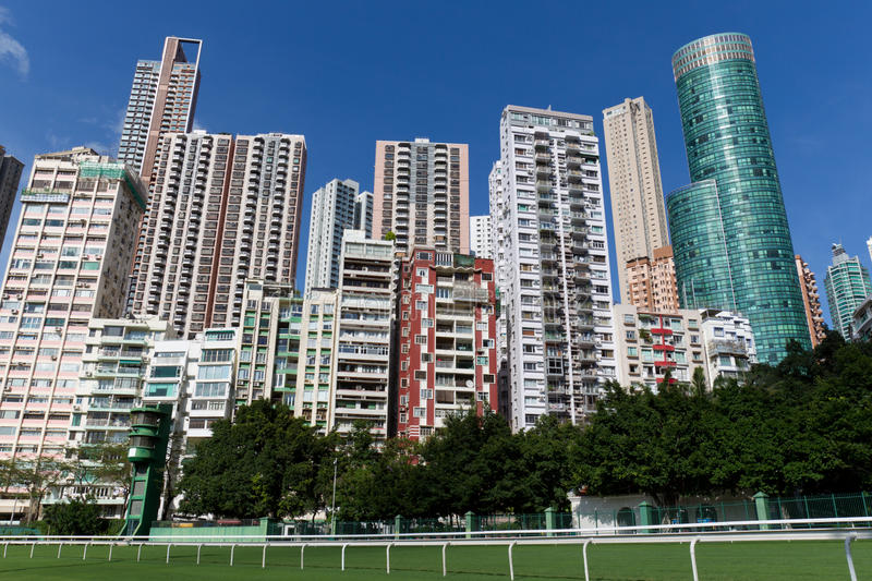 Download Residential Building In Happy Valley, Hong Kong Stock Image - Image: 20006089