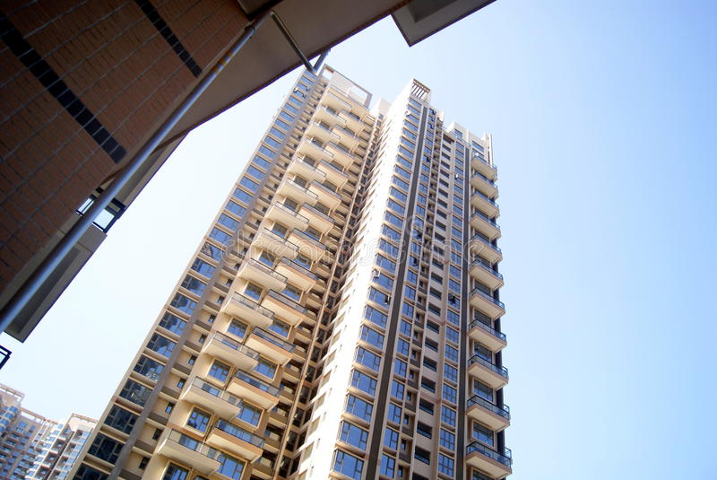 Download Residential Building Landscape Stock Photo - Image: 29201536