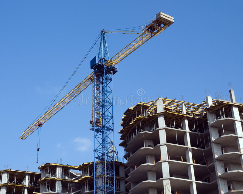 Download Residential Building Under Construction Stock Photo - Image: 7278860
