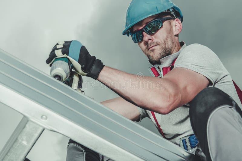 Construction Job royalty free stock image