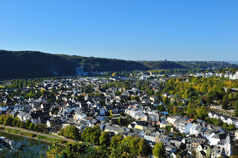 Download Residential District With Houses Near Koblentz Stock Photo - Image: 23111440
