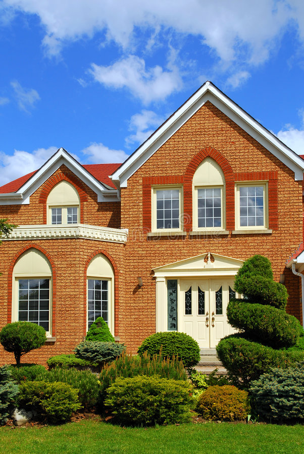 Residential home stock images