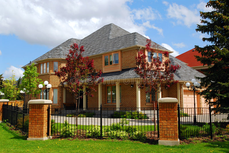 Residential home royalty free stock images