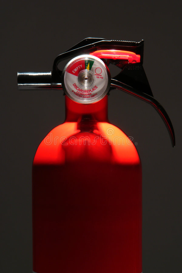 Residential Home Safety Fire Extinguisher Stock Photography