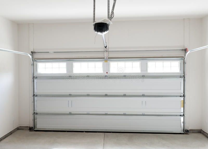 Download Residential house garage stock image. Image of plastic - 34231639