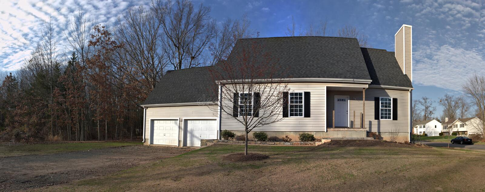 Residential House Panorama Royalty Free Stock Photo