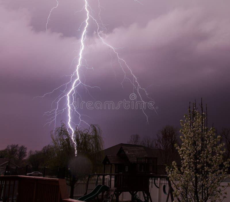 Residential Lightning stock images