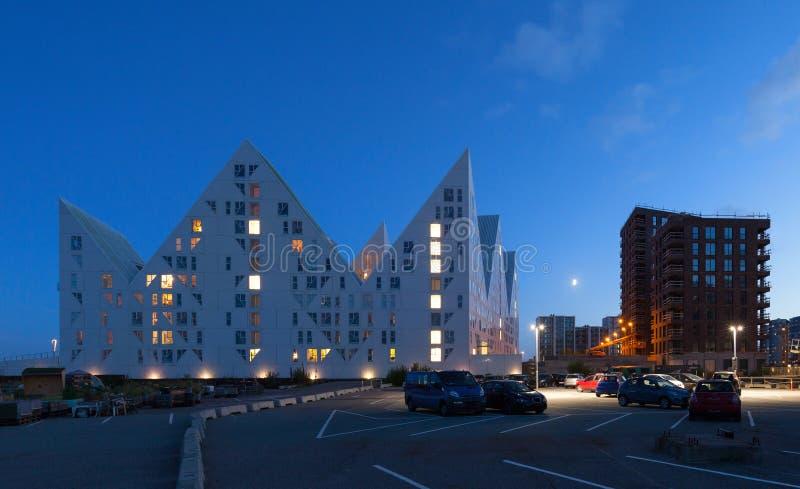 Residential neighborhood, Denmark stock photography