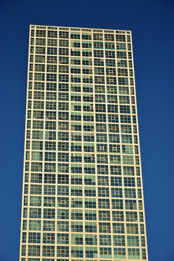 Residential towers in Astana / Kazakhstan stock photography
