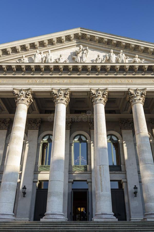 Residenz剧院在慕尼黑,德国, 2015年 免版税库存图片