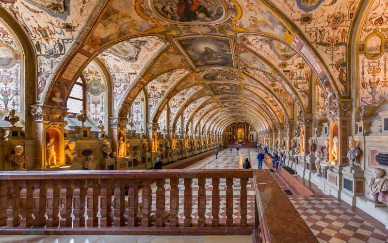 Residenz-museo di Monaco di Baviera fotografie stock libere da diritti