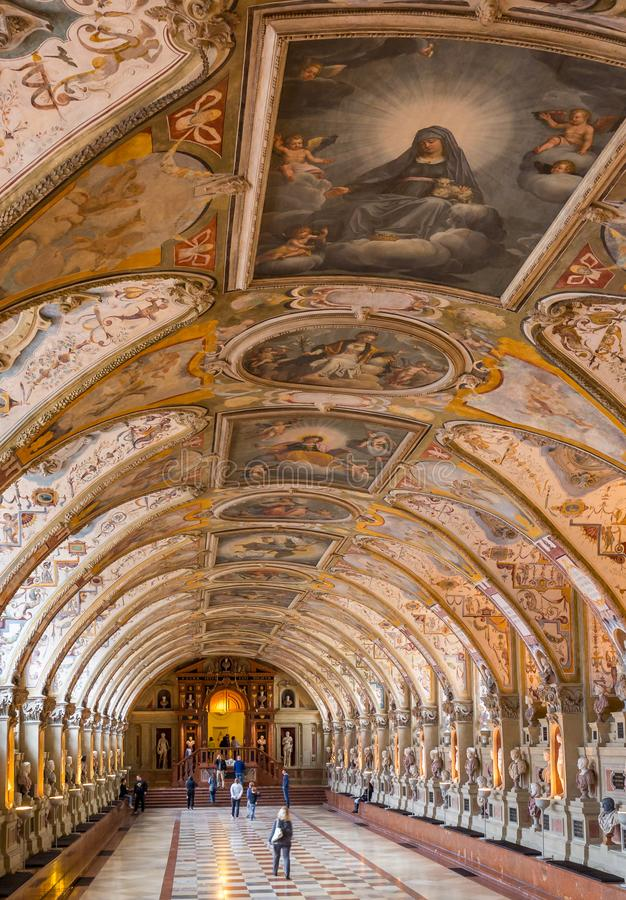 Residenz-museo di Monaco di Baviera fotografie stock