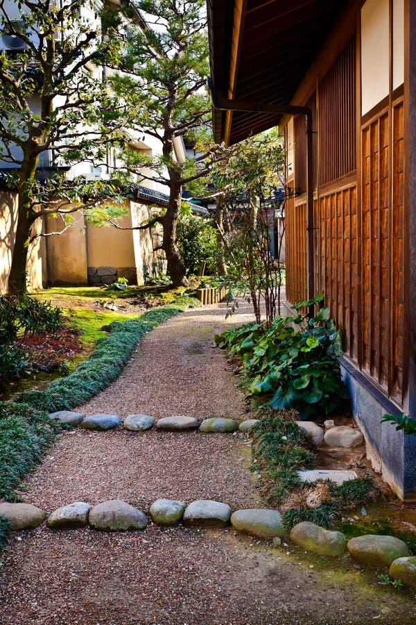 Residenza ripristinata del samurai fotografia stock