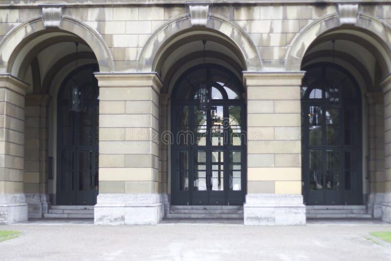 Residenzstraße Munich, Alemania fotos de archivo libres de regalías