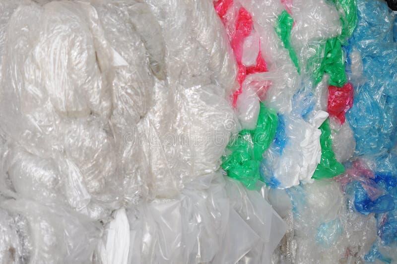 Residuo di plastica industriale immagini stock