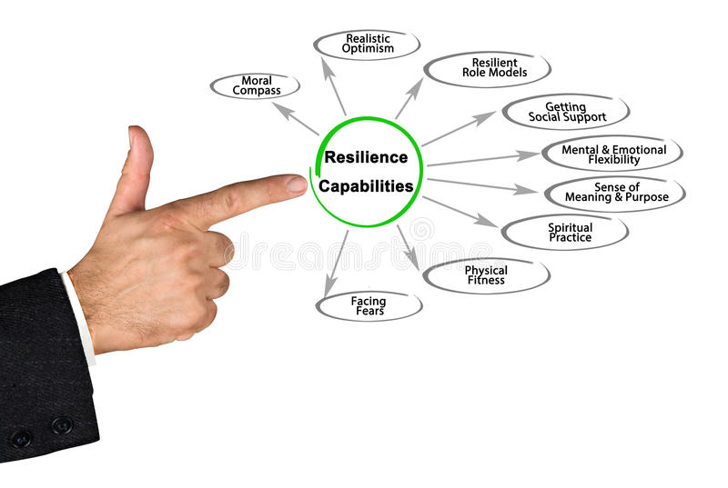 Resilience Capabilities royalty free stock photo