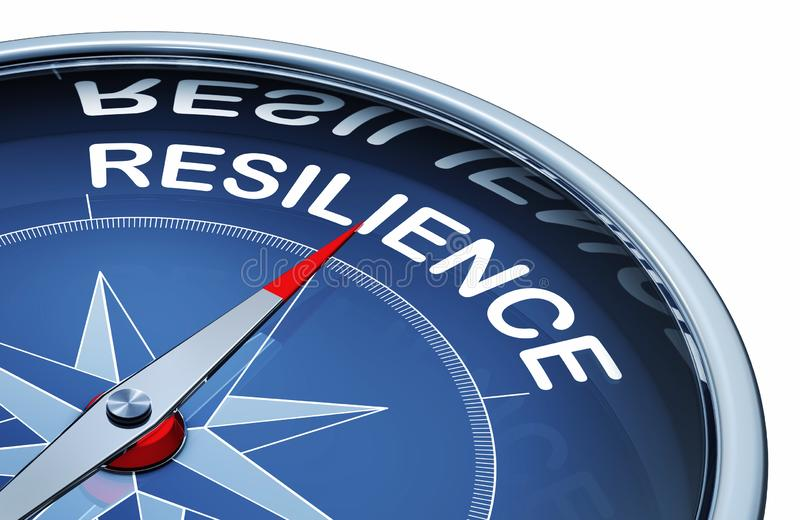 Resilience stock illustration