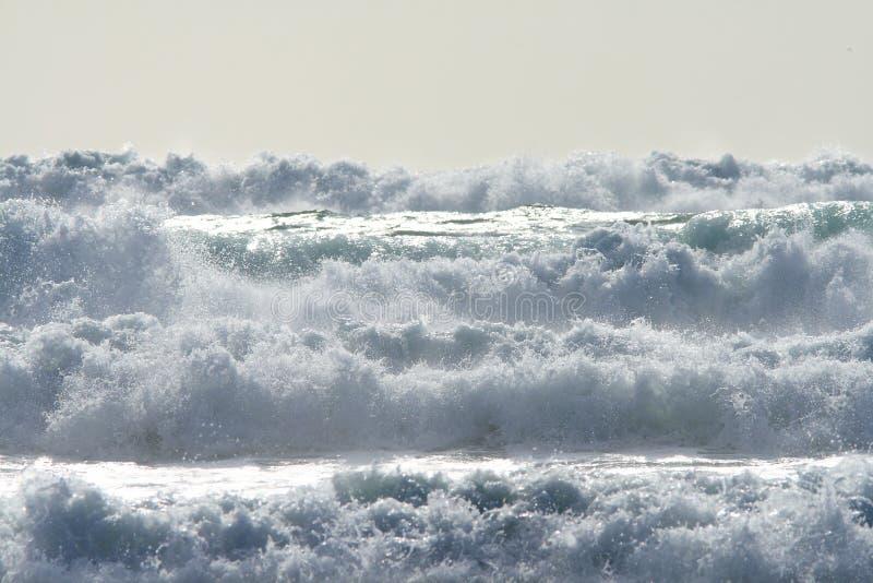 Resistenza dell'oceano fotografie stock libere da diritti