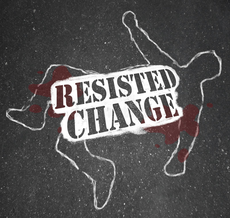Free Resisting Change Leads To Obsolescence Or Death Royalty Free Stock Image - 18402886
