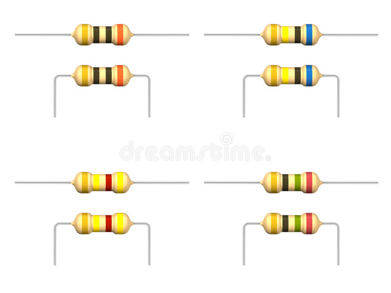 Resistor stock de ilustración
