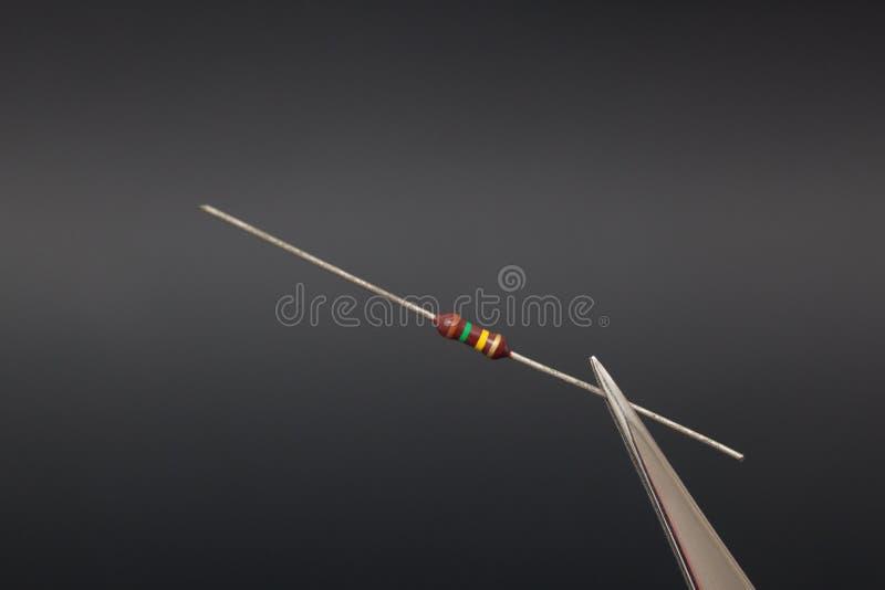 Resistor foto de stock