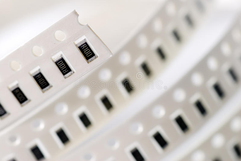 Download Resistor chip in SMD style stock photo. Image of detail - 11120080