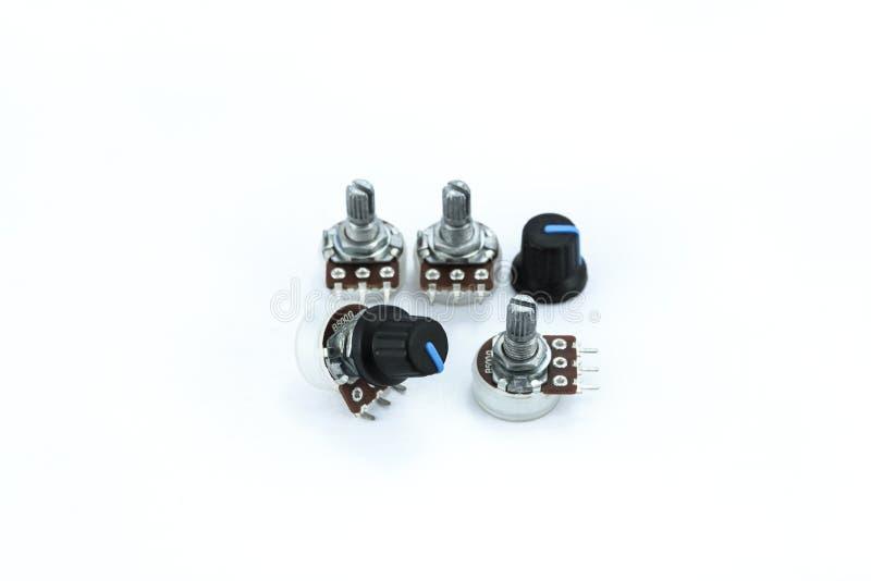 Resistor variável imagem de stock