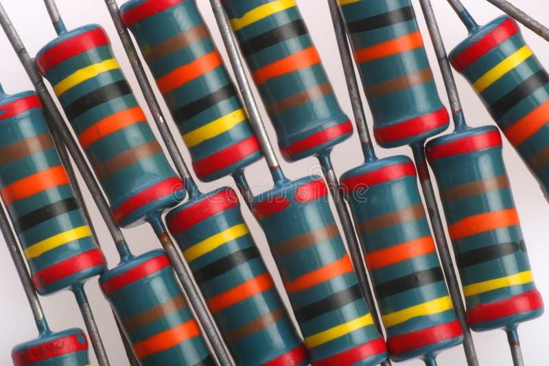 Resistores imagem de stock
